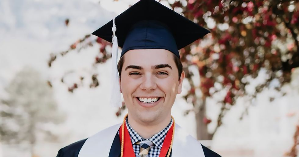 This Valedictorian Came out as Gay During His Graduation Speech at a Mormon University
