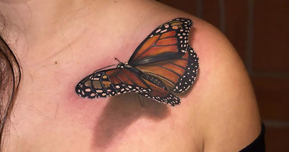 These 3D Tattoos Are Completely Mesmerizing