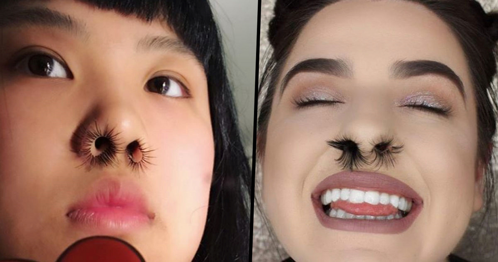 People Are Getting Nostril Hair Extension in Weird New Beauty Trend