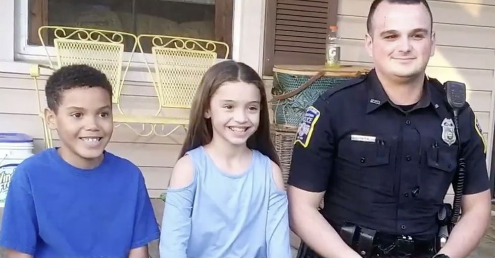 8-Year-Old Rescues His Sister From Being Kidnapped by Yanking Her From a Moving Car