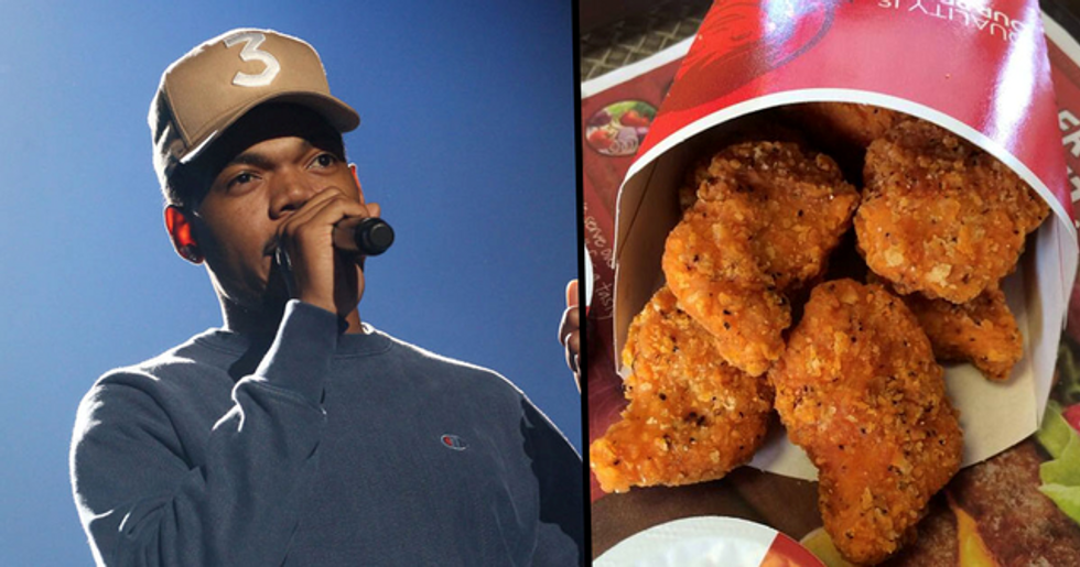 Wendy's Spicy Chicken Nuggets Are Returning Thanks to Chance the Rapper