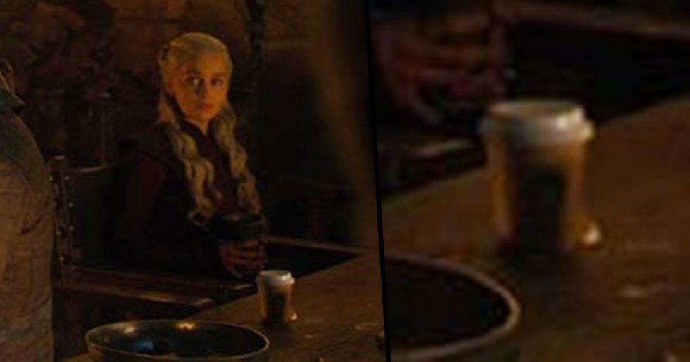 HBO Responds to Coffee Cup Being Left on Table 'Game of Thrones'