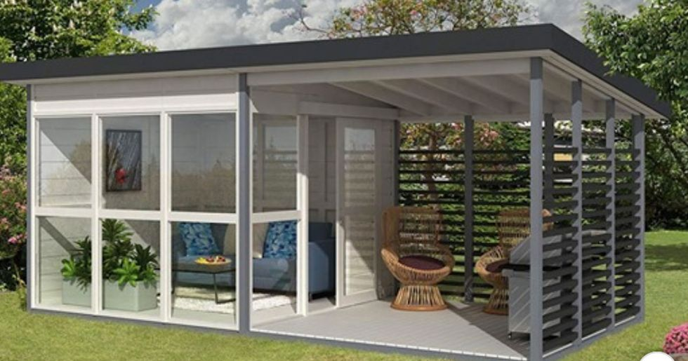 Amazon Is Selling a DIY Backyard Guesthouse That You Can Build in 8 Hours