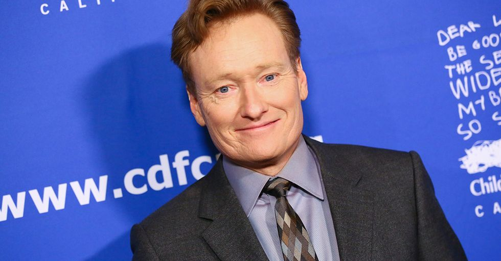 Conan O'Brien's Response to His Kid Asking Where Babies Come From Is Priceless