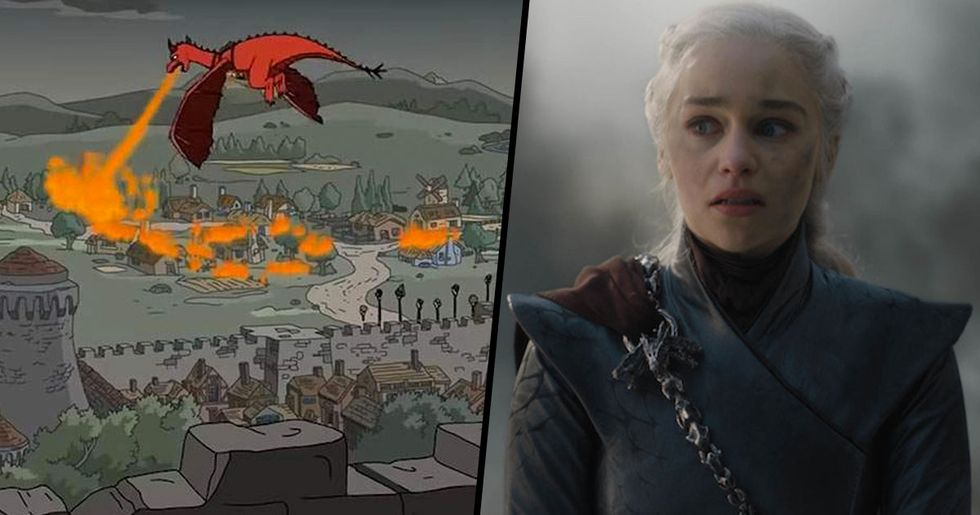 'The Simpsons' Predicted the Battle of King's Landing Years Ago