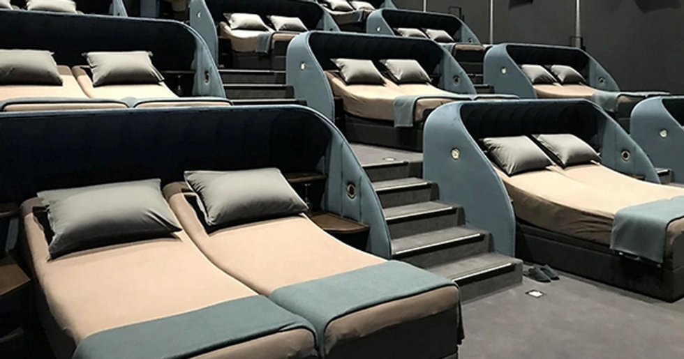 Swiss Cinema Replaces All Their Seats With Double Beds