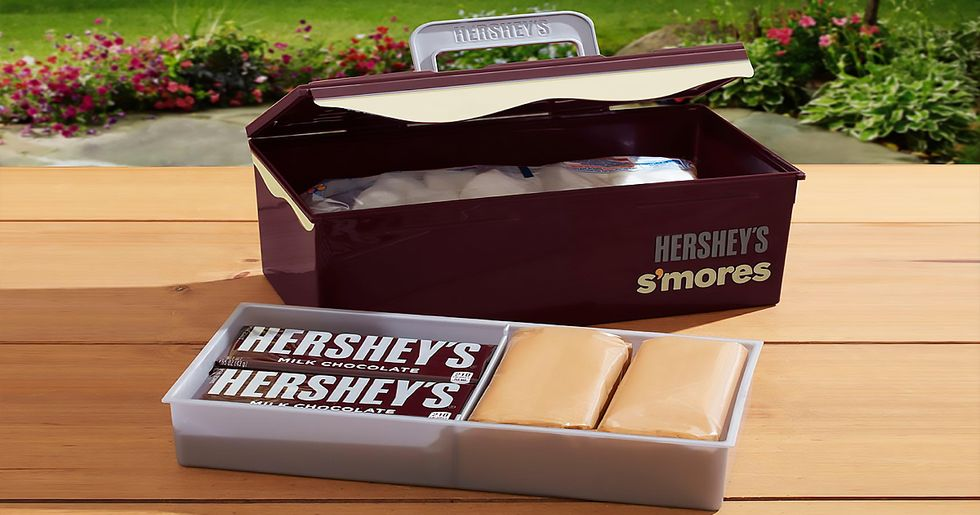 You Can Now Buy a Hershey's S'mores Caddy From Target and OMG I Want One
