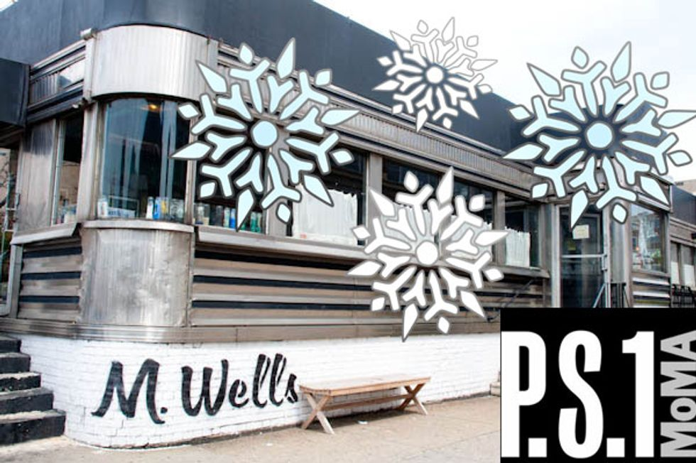 M. Wells X MoMA PS1's Winter Carnival
