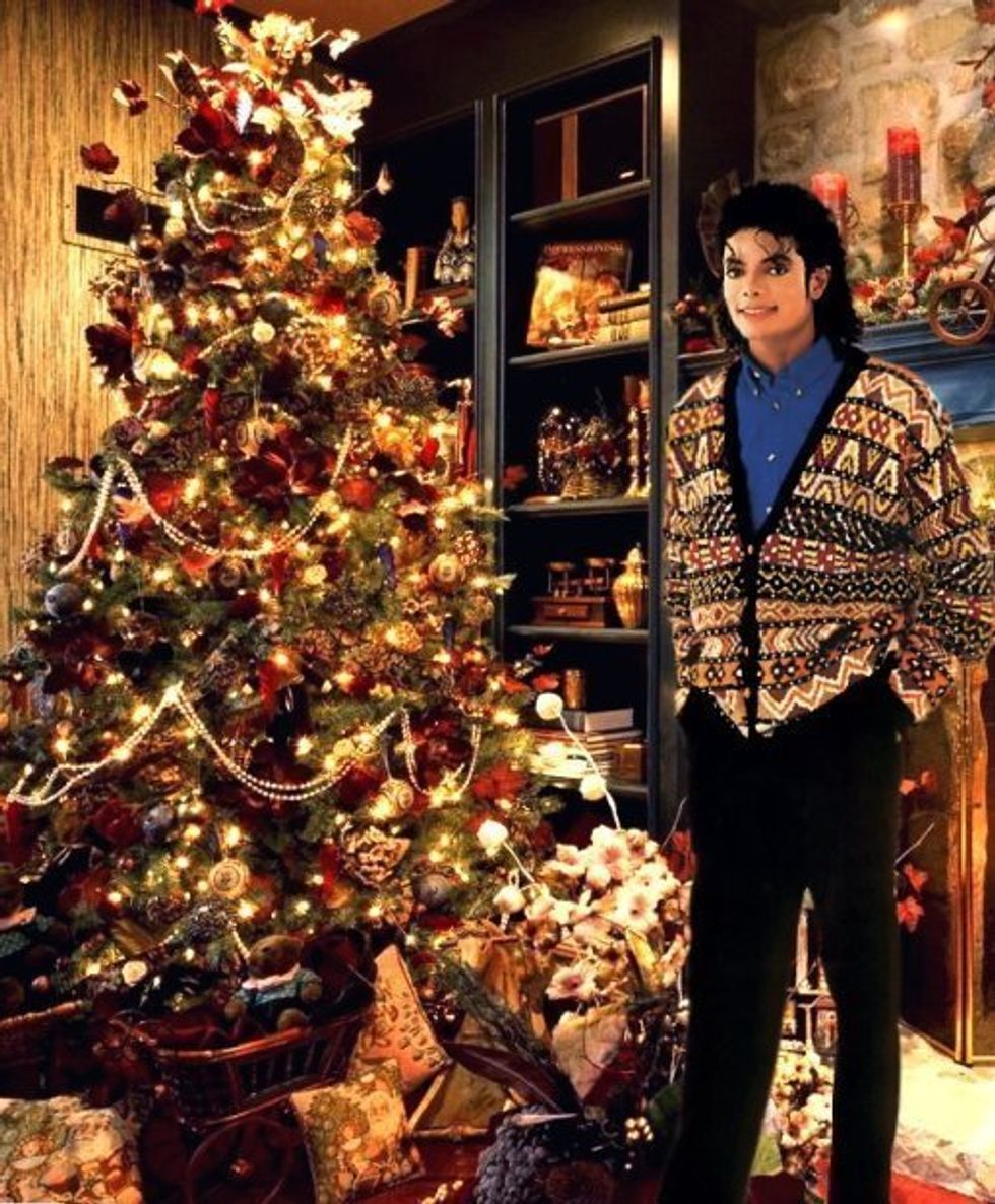Lady Gaga, Michael Jackson, John Waters and 28 Other Famous People With Their Christmas Trees