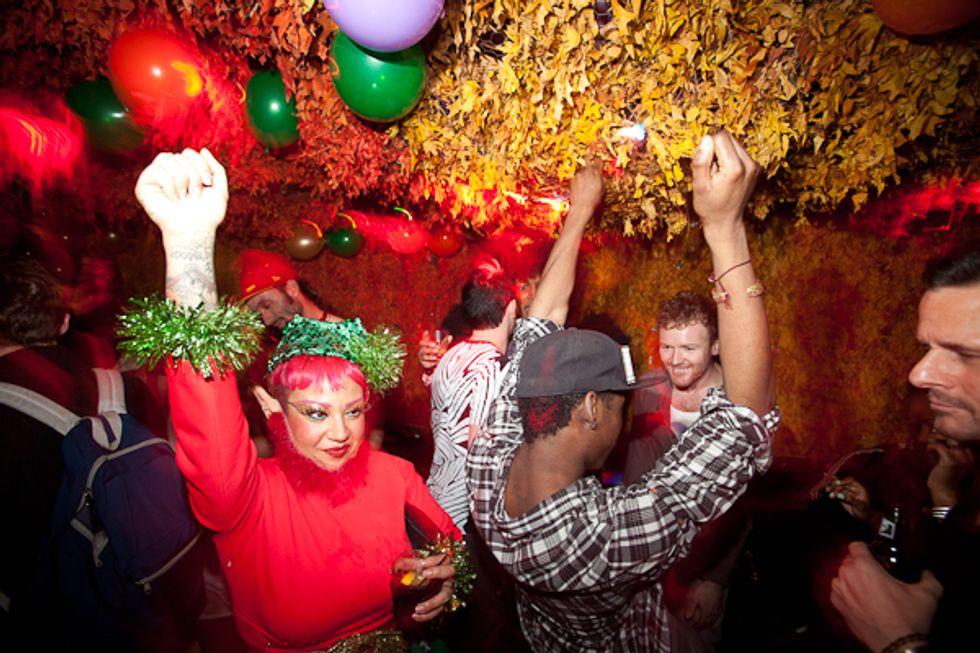 Patricia Field's Santa Sunday XXXMas Party at Vandam's Blind Tiger