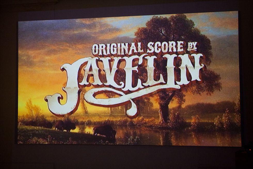 Javelin's Canyon Candy Screening at the Clocktower -- Yee-haw!