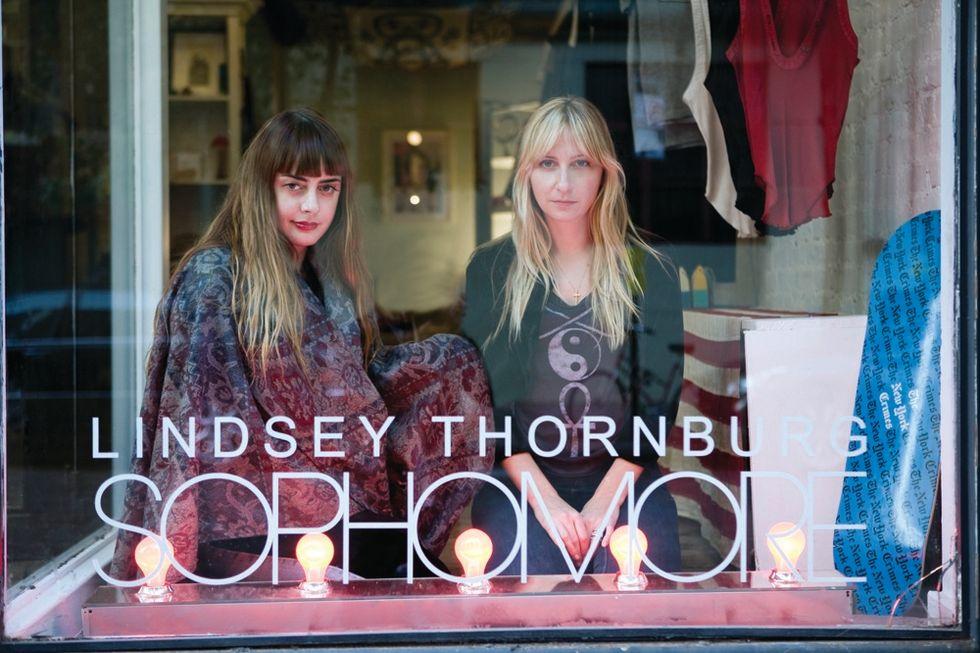 Inside 143, Chrissie Miller and Lindsey Thornburg's New L.E.S. Shop