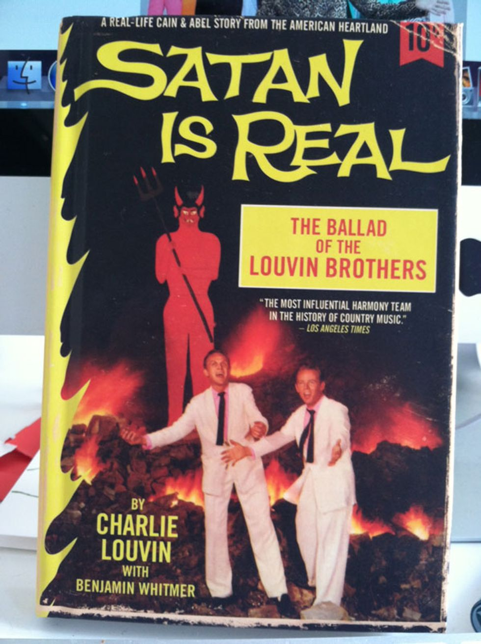 Satan Is Real Has the Best-Designed Book Cover of 2012