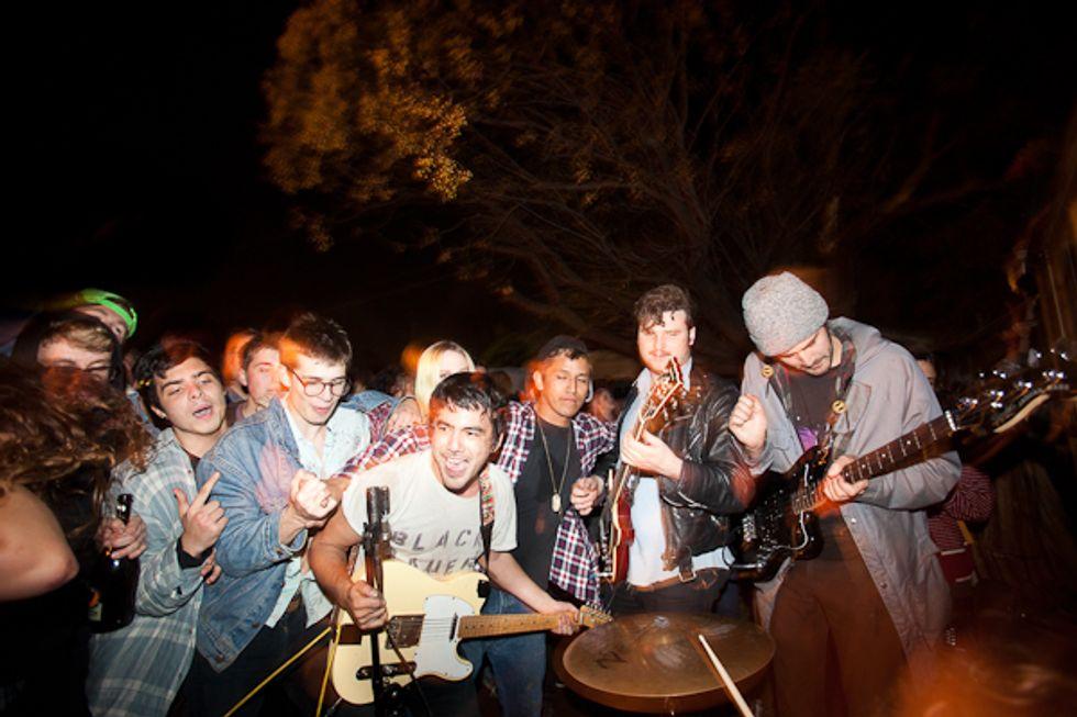 L.A. Garage Punks Fidlar's Crazy New Year's Eve House Party Show
