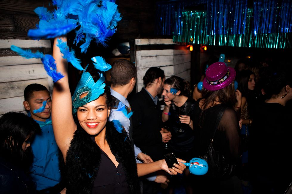 Photo of the Day: New Year's Eve at Pulqueria