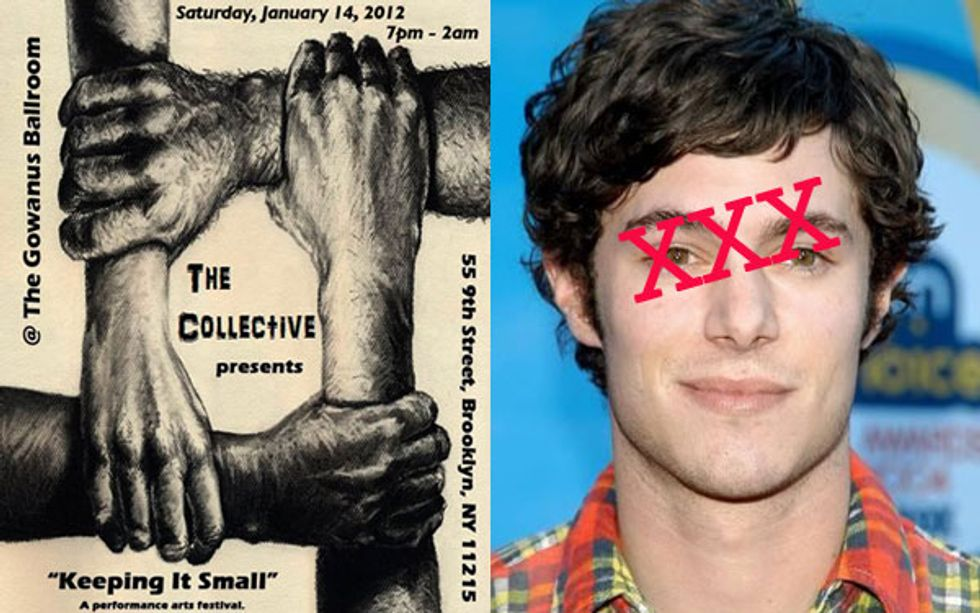 The Gowanus Art Festival Is Coming + Adam Brody Is a Porn Star = Eight Items Or Less