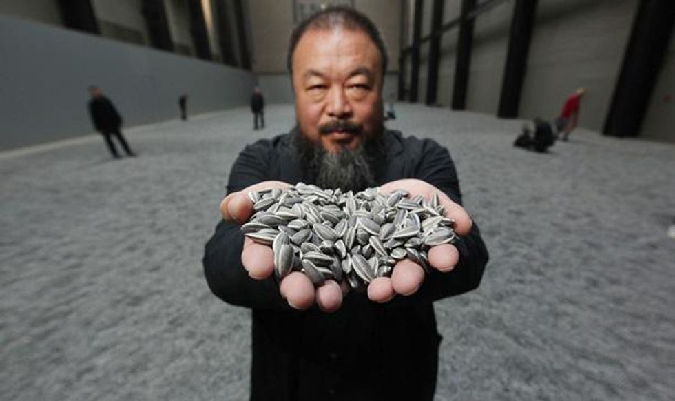 Ai Weiwei Sunflower Seed Exhibit Comes to NYC