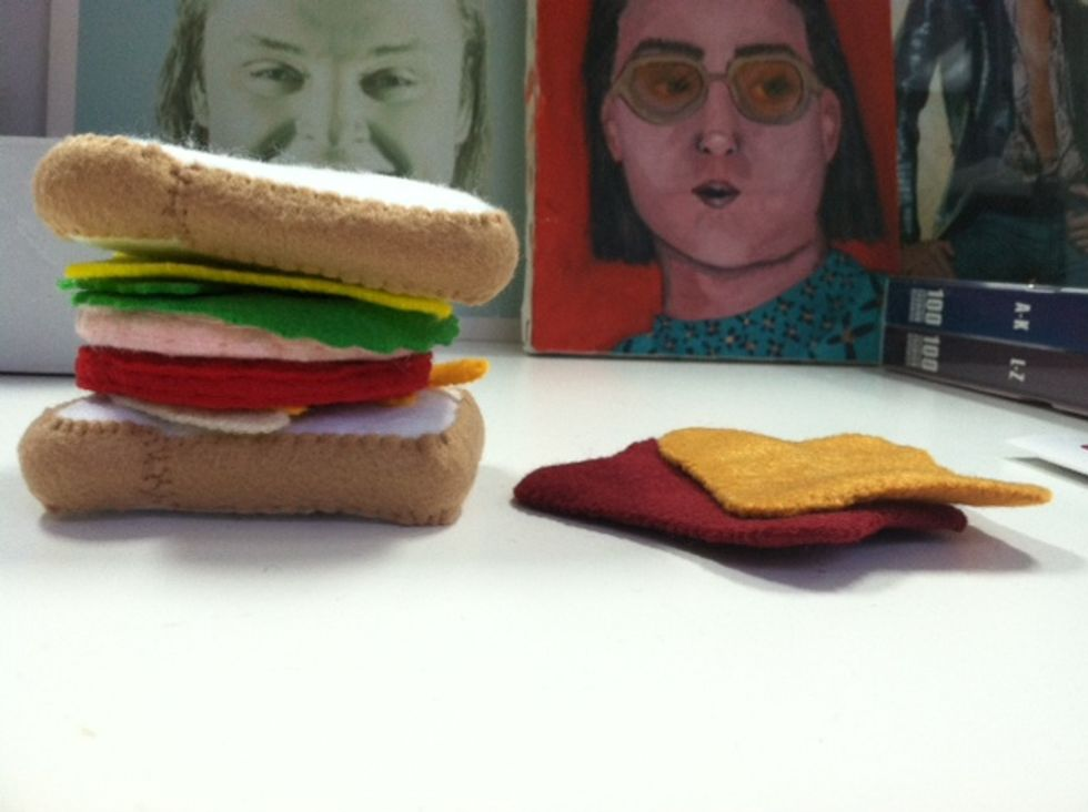 Mr. Mickey's Shopaholic Diary -- Felt Sandwiches, Carrie Fisher's Memoir + Royalty Knickknacks