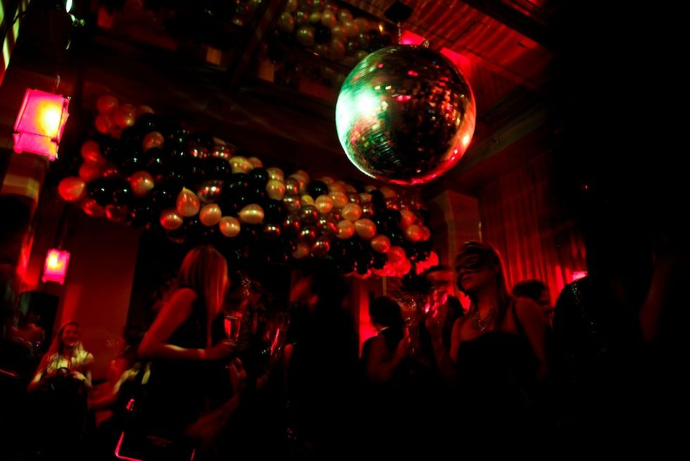 New Year's Eve Photos from SoHo Grand, Westway + Red Egg
