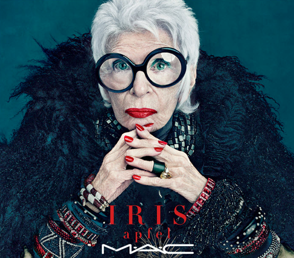 Iris Apfel's New MAC Line Is Cuckoo Crazy