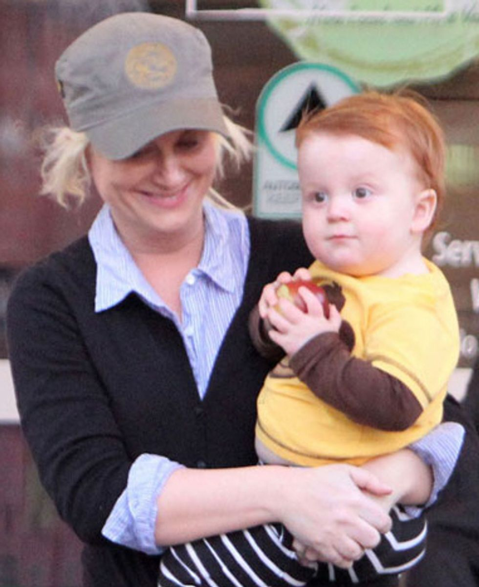 Amy Poehler And Will Arnett's Perfect Baby