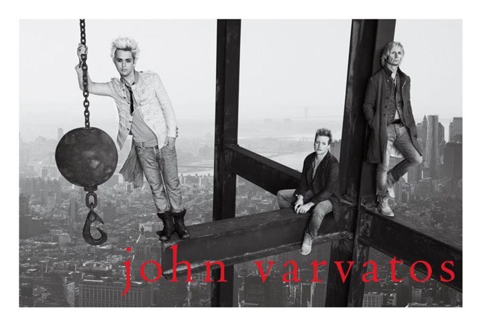 Green Day Does John Varvatos