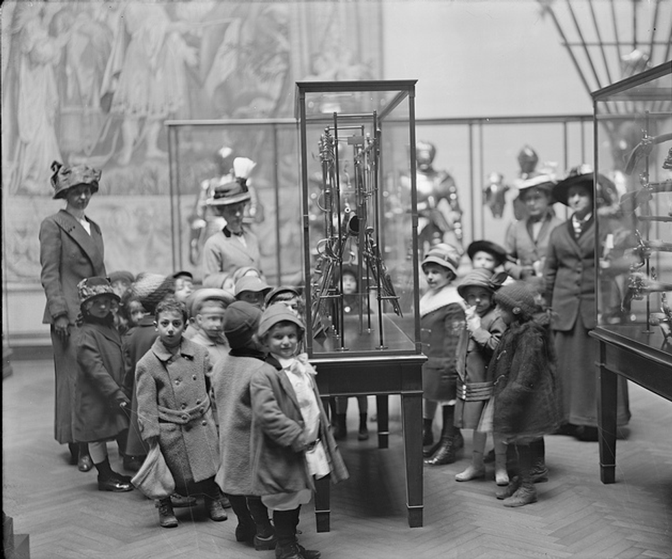 Photos of Kids at the Museum Back in The Day
