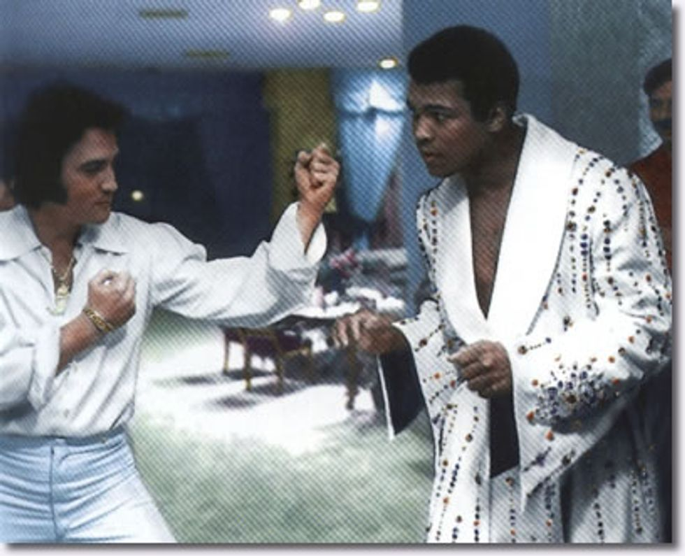 Muhammad Ali Hanging Out with Awesome People