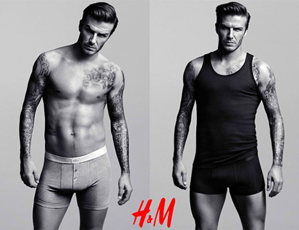 David Beckham's Underpants + Wikipedia to Shut-Down = Eight Items or Less