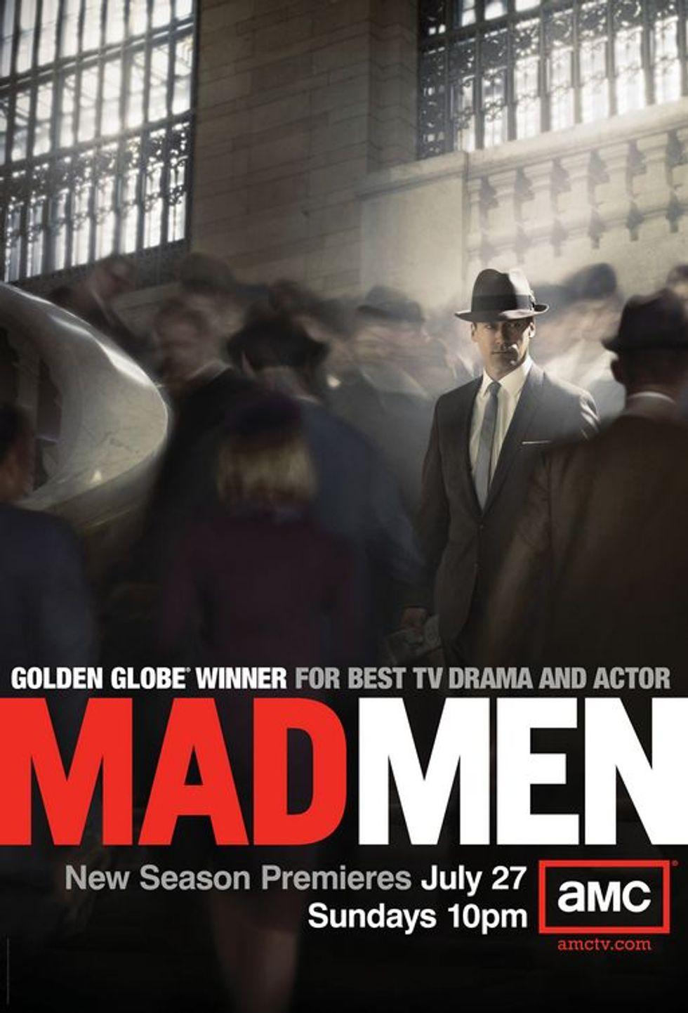 Mad Men Season 5 Poster: Whoa.