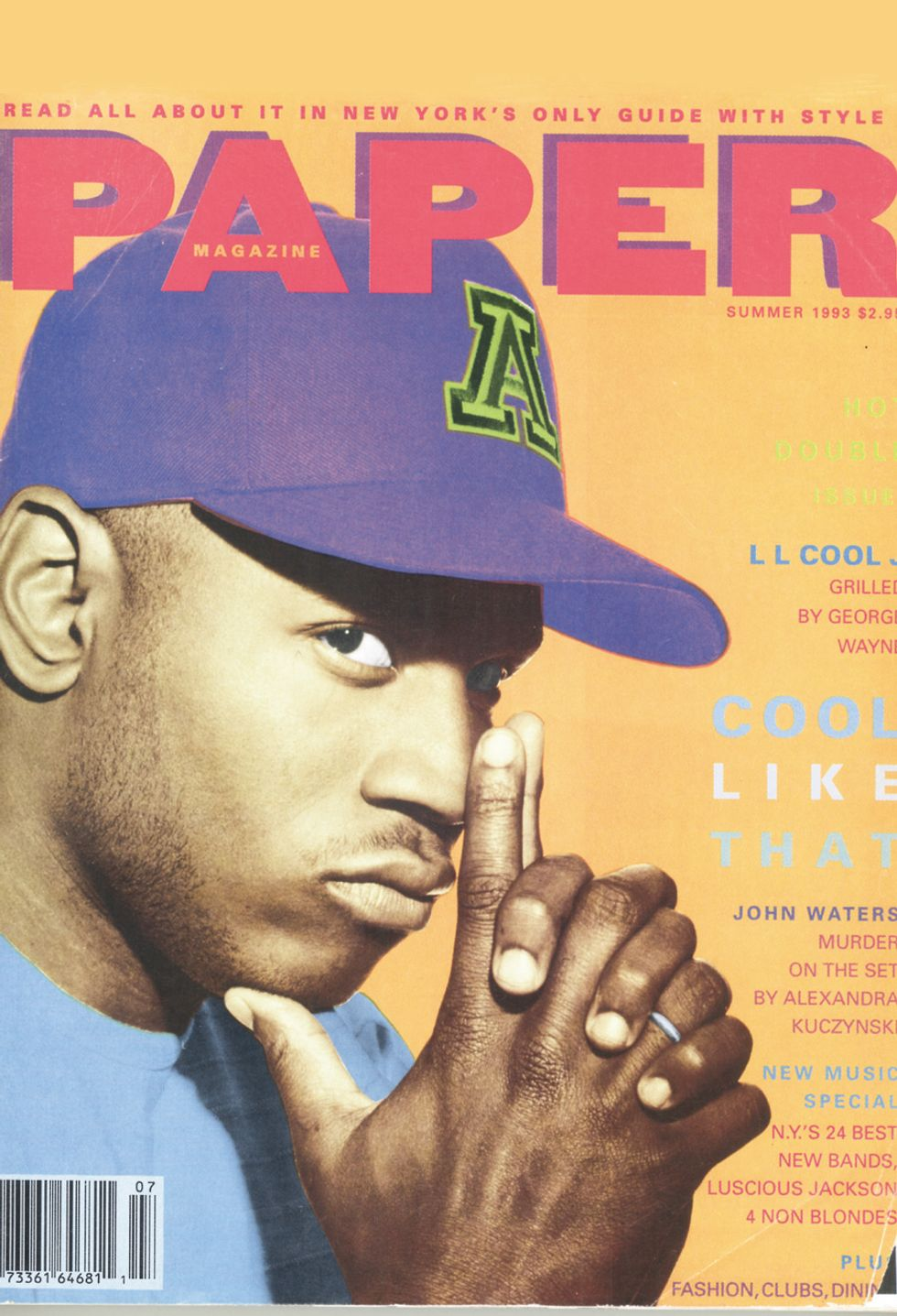 Grammy Host LL Cool J Gets Grilled By George Wayne: From the PAPER Archives