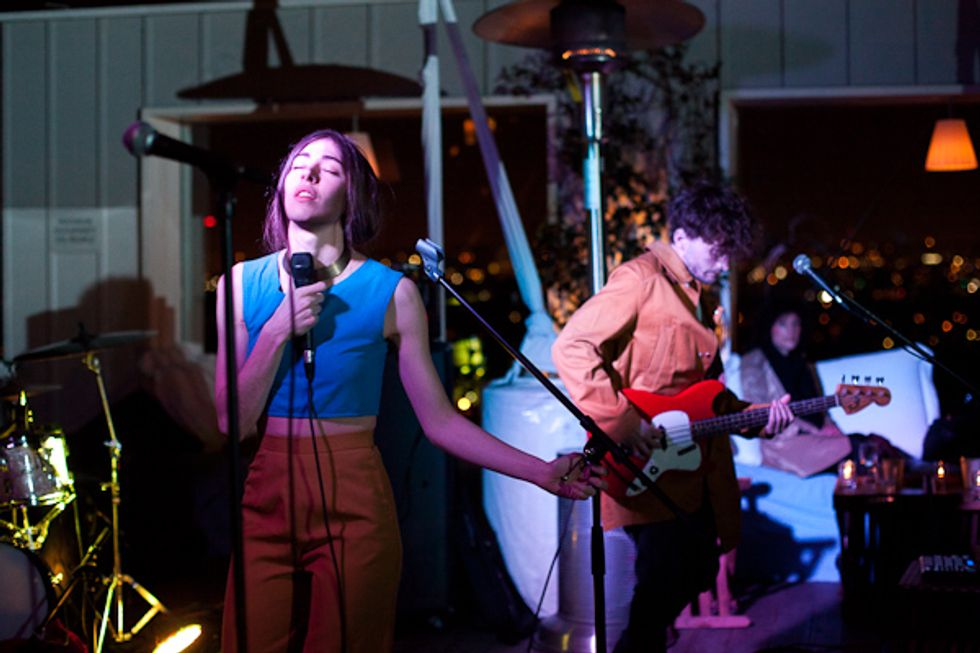 Chairlift Gets Wet at the Mondrian L.A.