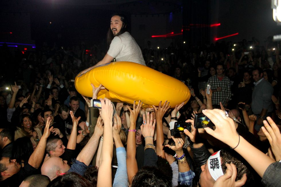 Photo of the Day: Steve Aoki's On Top