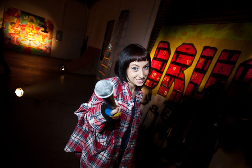 Kreayshawn and Friends L.A. Art Party Pix