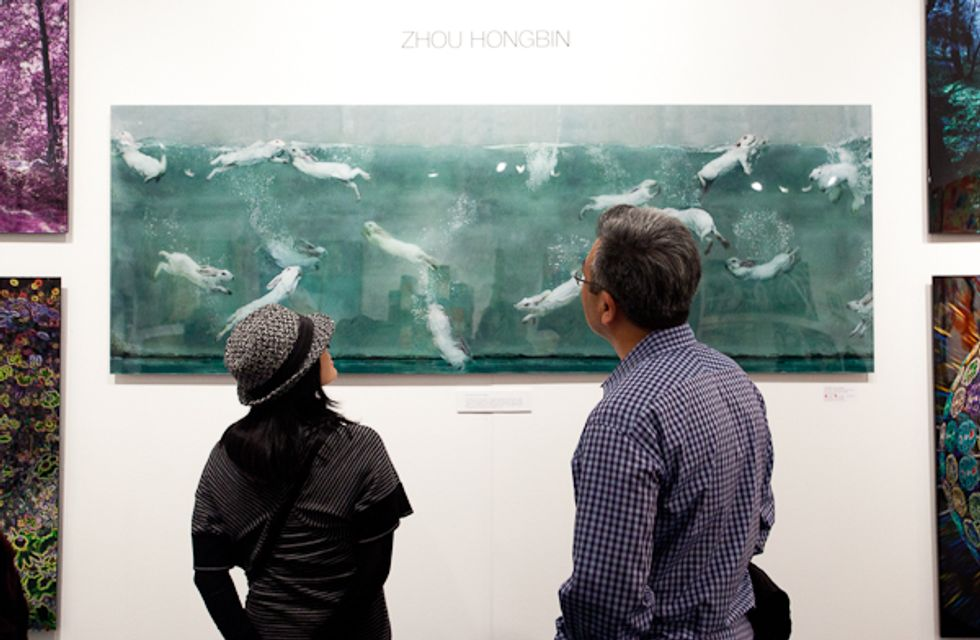 The Affordable Art Fair -- Photos of Our Favorite Pieces