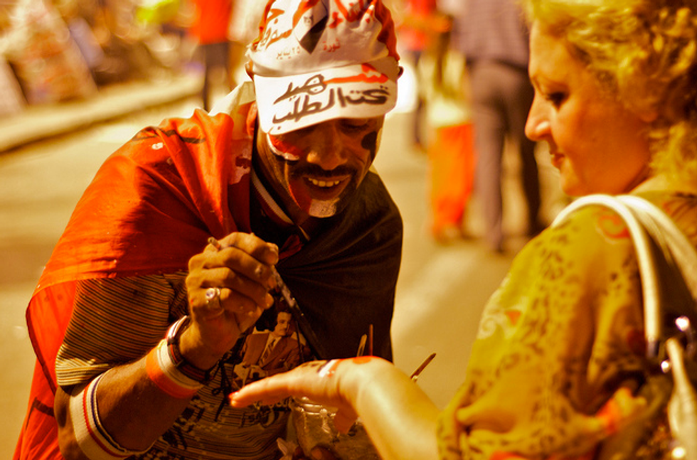Tahrir Square: 16 Striking Images One Year Later