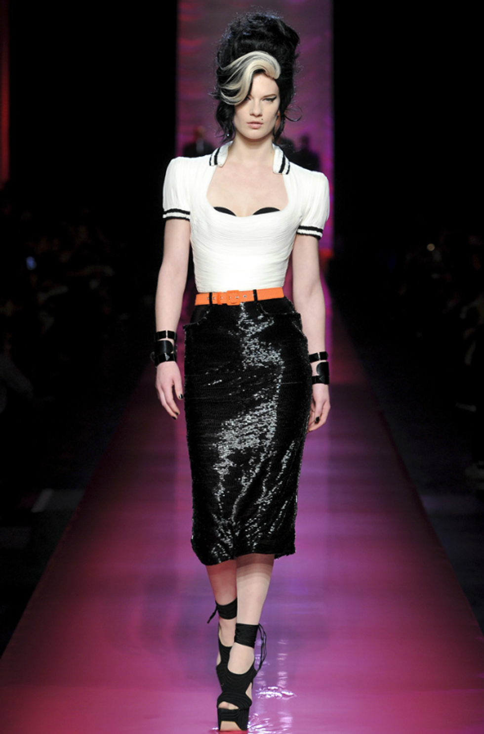 Jean Paul Gaultier's Spring '12 Couture Channels Amy Winehouse