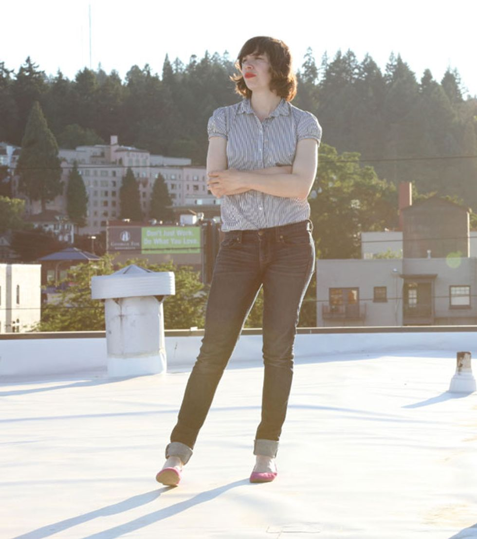 Portlandia's Carrie Brownstein Without Irony