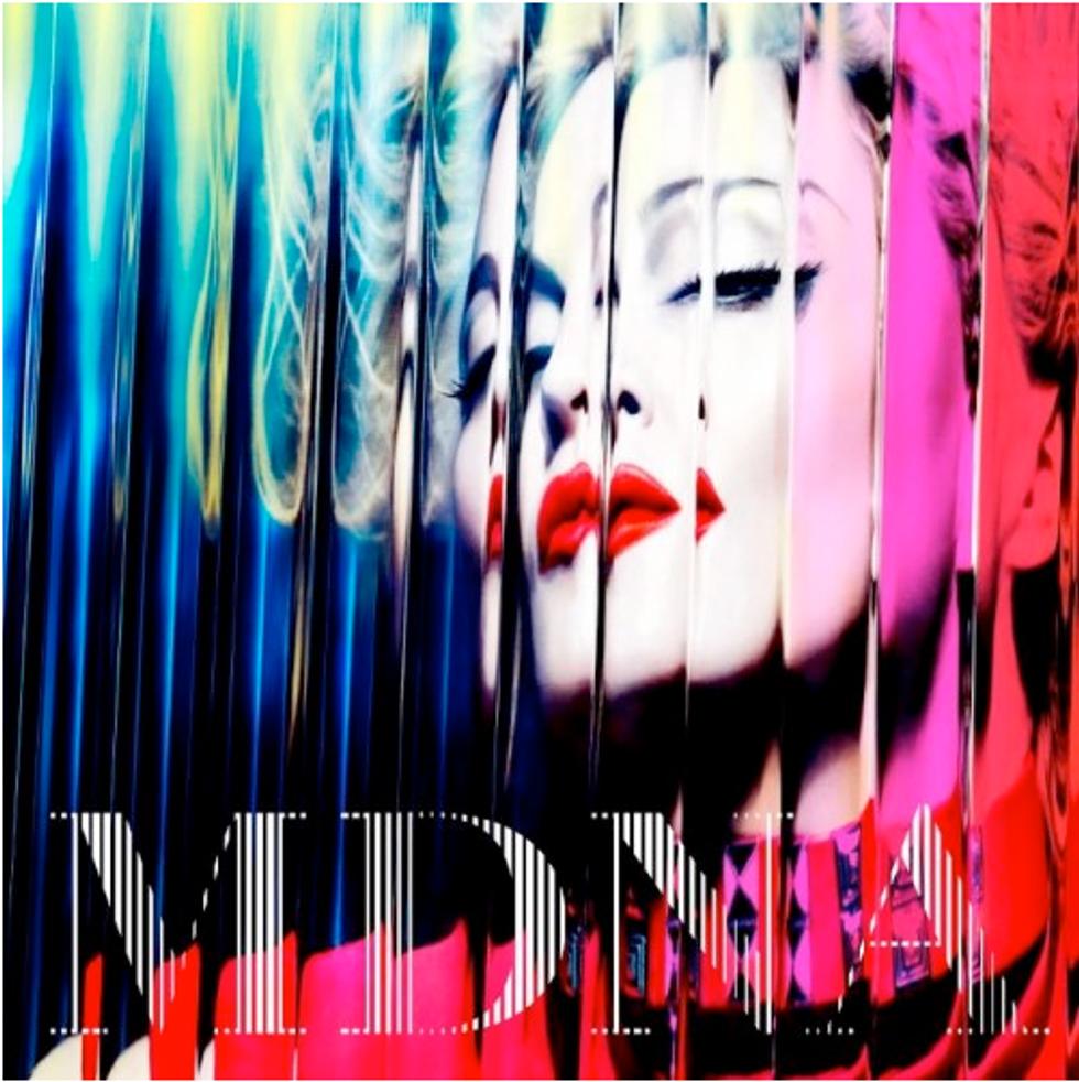 Madonna's Rainbow-Bright Album Art for MDNA