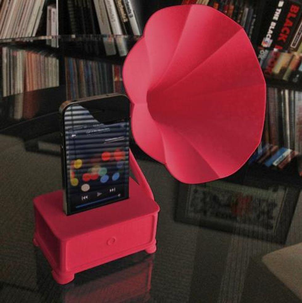 Buy This: iVictrola Gramophone