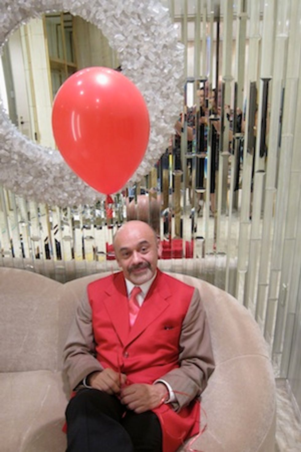 Christian Louboutin On Making His Rapping Debut and Why He'll Never Get Sick of Heels