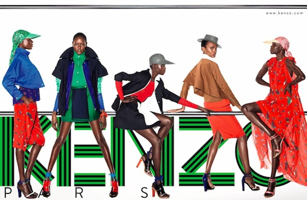 Kenzo's Eye-Popping Ad Campaign Features Acrobatics and Color Blocking Galore