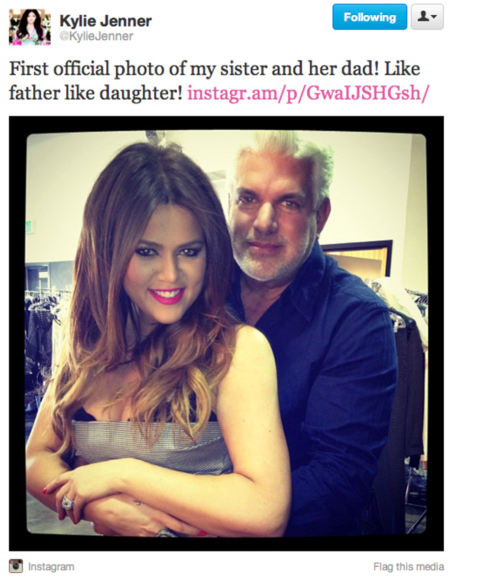 Khloe Kardashian Takes Photo With 'Real Dad' + Puppets' Court Day = Eight Items or Less