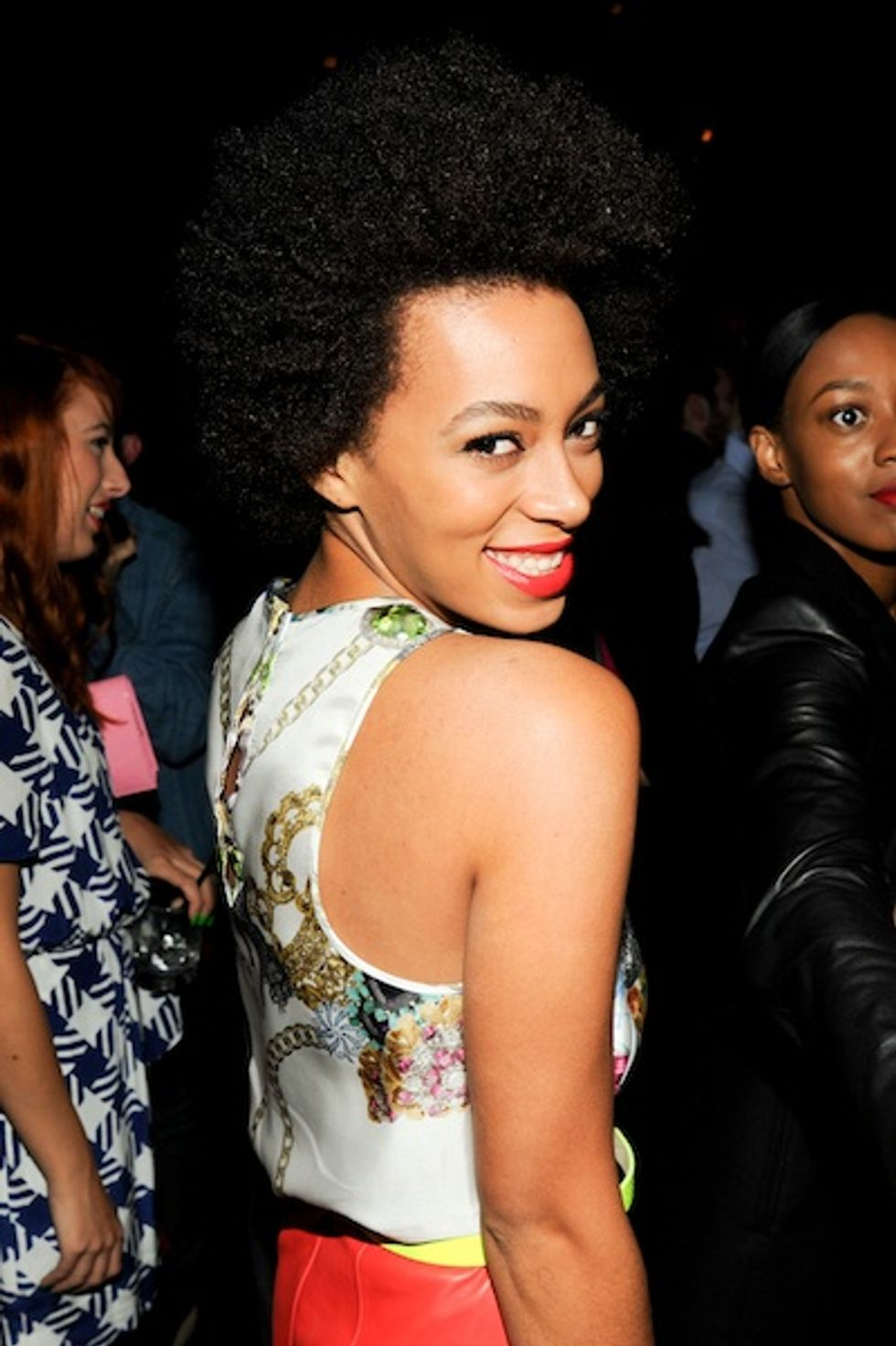 Solange Knowles Talks Blue Ivy, Her New Album at the Refinery 29 Party.