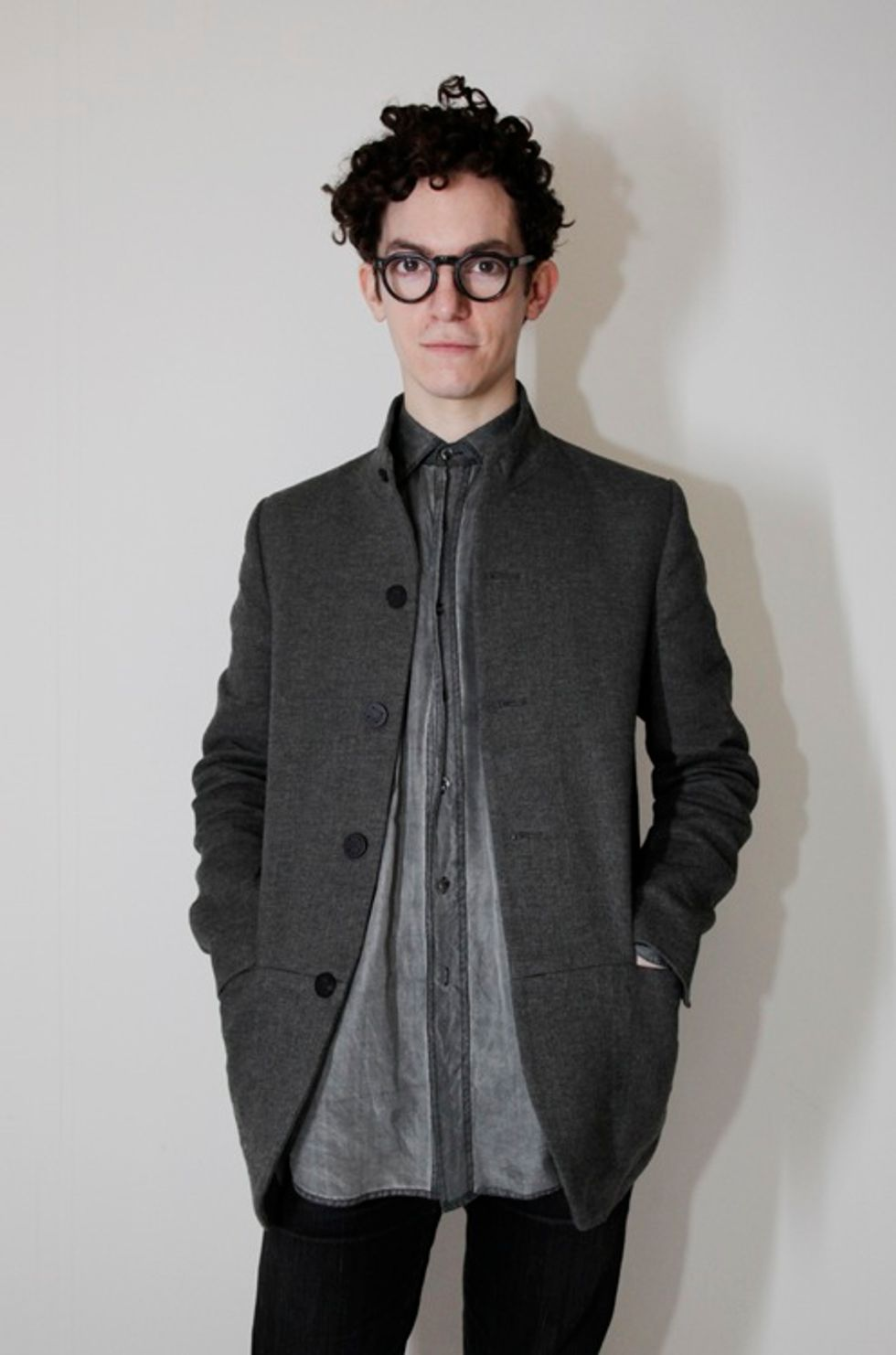 Jeremy Laing F/W '12 Was David Byrne Chic