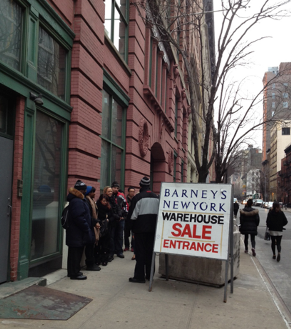 Tips for Today: Barneys Warehouse Sale + Lucky Dragons + Michael Showalter
