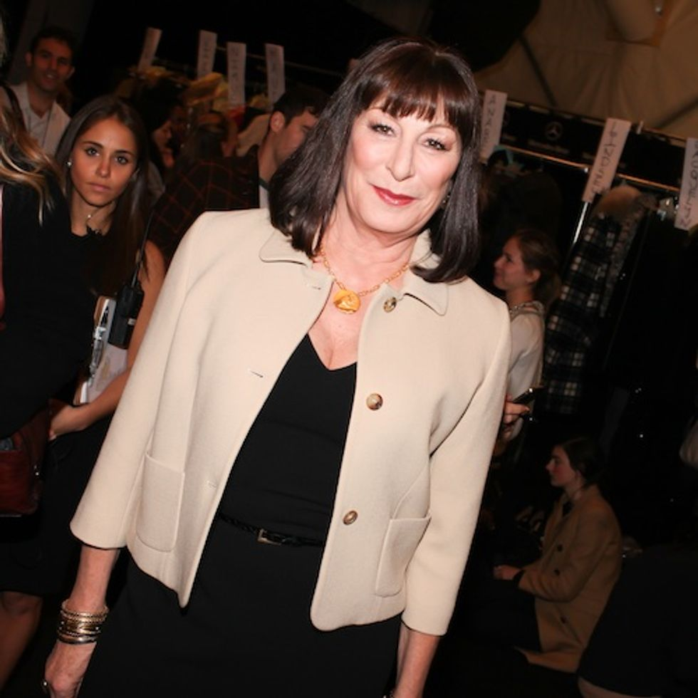 Anjelica Huston Says Smash is Dynasty's Glamorous Cousin + More From Our Chat at Michael Kors