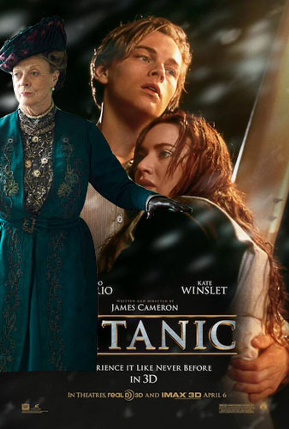 Titanic 3D Is Screaming for a Downton Abbey Tie-In