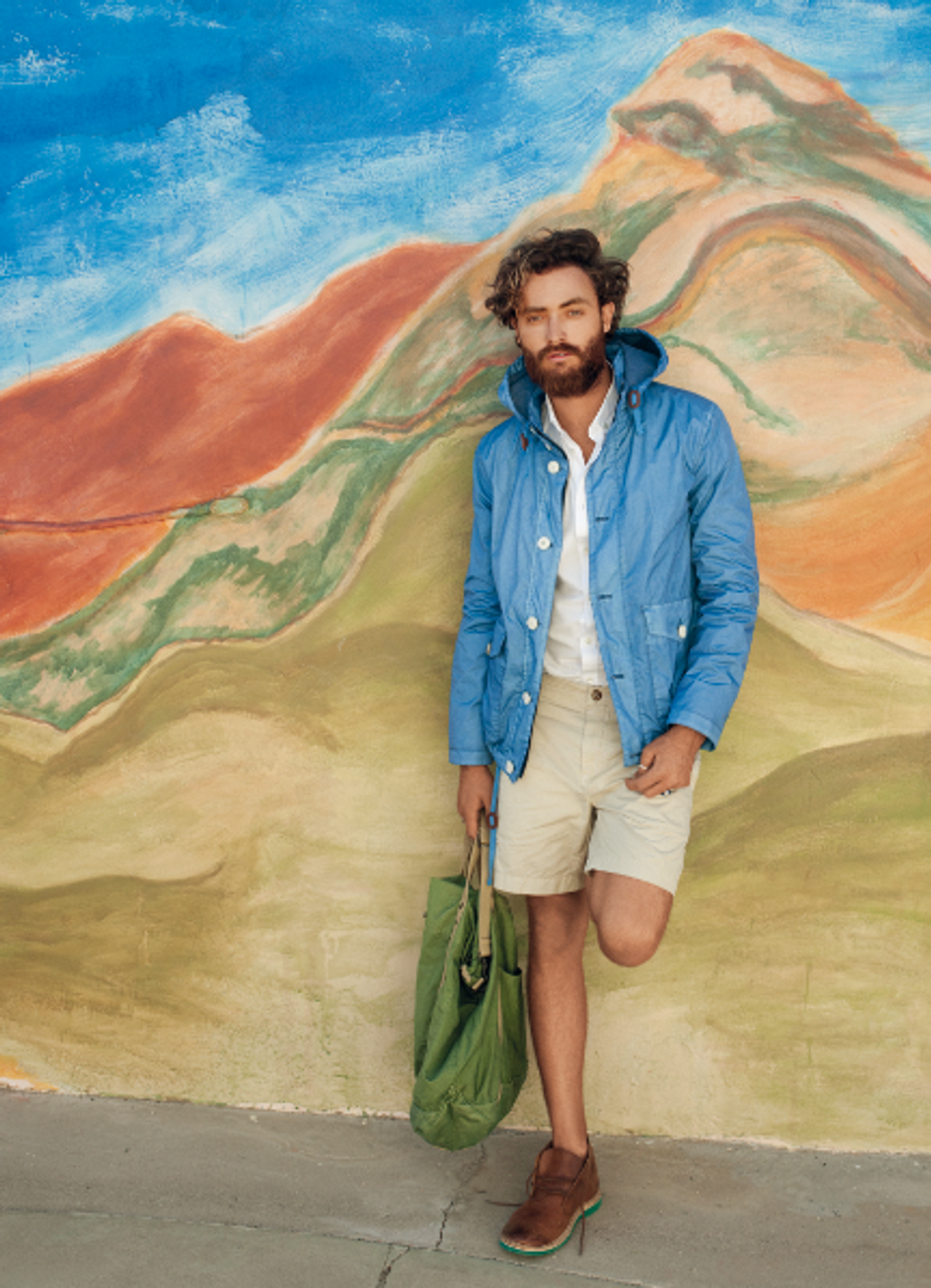 CLOSED's S/S '12 Mojave Desert Campaign Is All About the Color