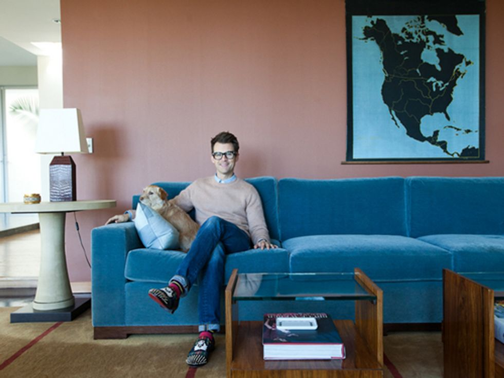 Brad Goreski's Hollywood Hills Home: A Tour